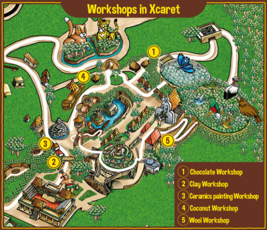 5-Interactive-workshops-that-you-can-take-in-Xcaret