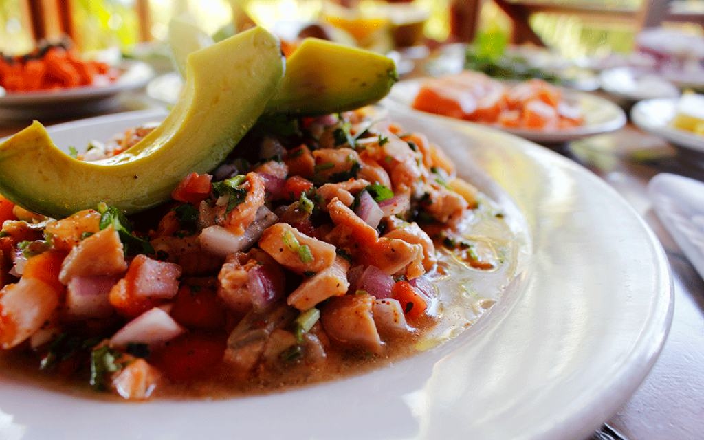 The exquisite ceviche and its recipe