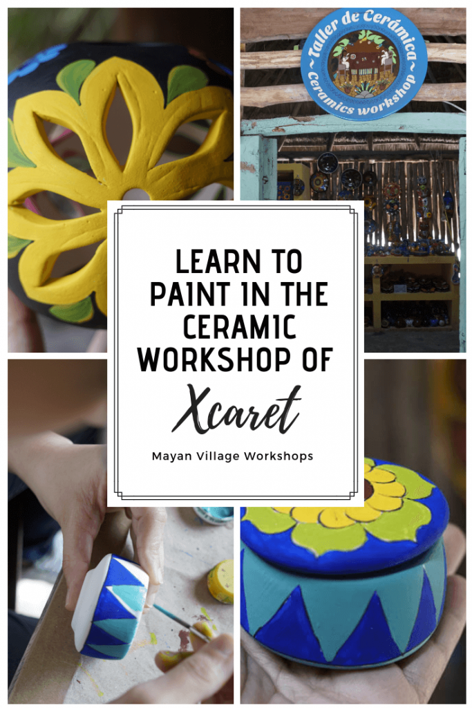 Learn-to-paint-in-the-Ceramic-Workshop-of-Xcaret
