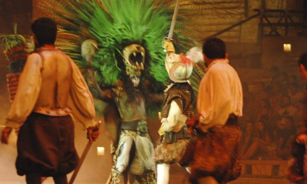Who is the Halach Uinic in the Xcaret Night Show?