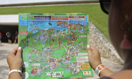 Suggested route for visiting Xcaret for the first time