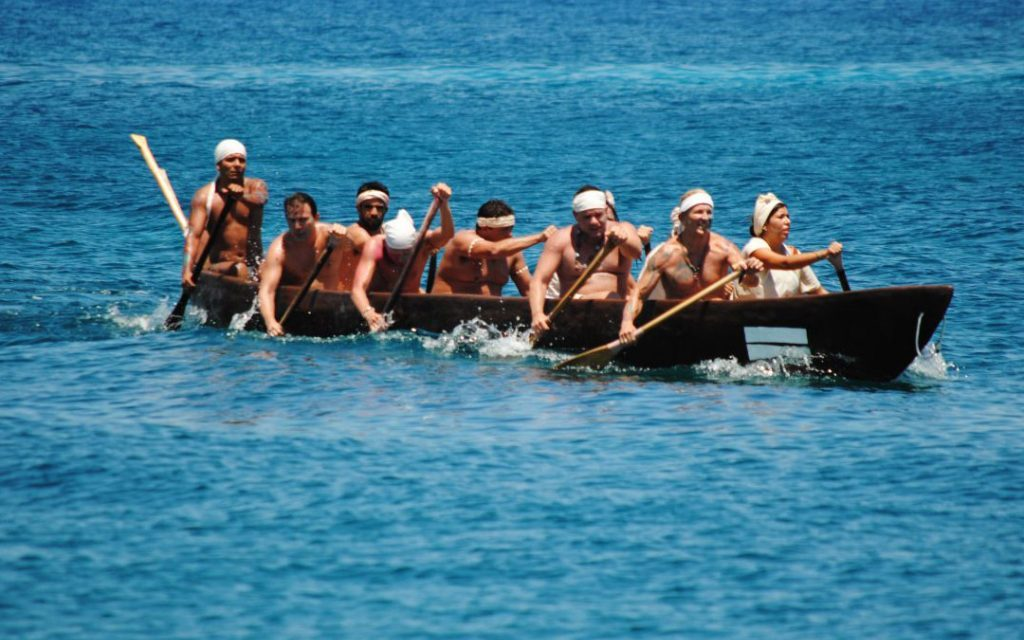 Towards the Sacred Mayan Journey 2012: Training for Canoeing