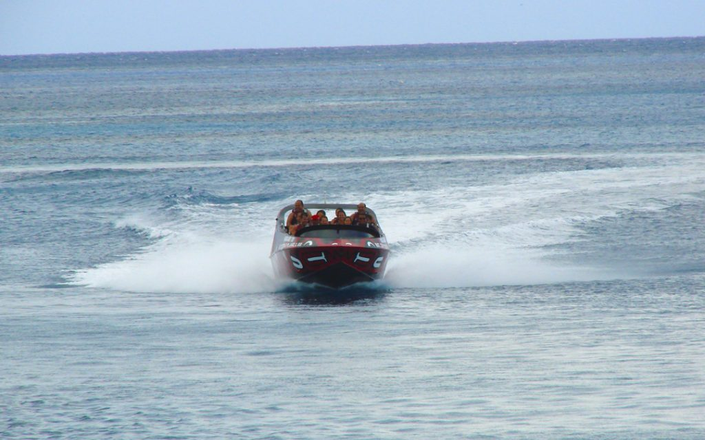 Speed and adrenaline in Xcaret?