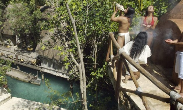 Finding Magic In Xcaret's Temazcal