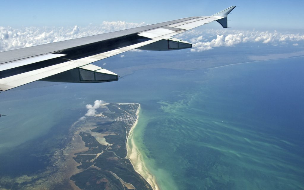 Welcome to Cancun: the best views from the plane