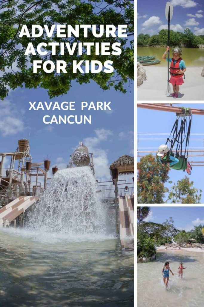 Adventure activities for kids at Xavage