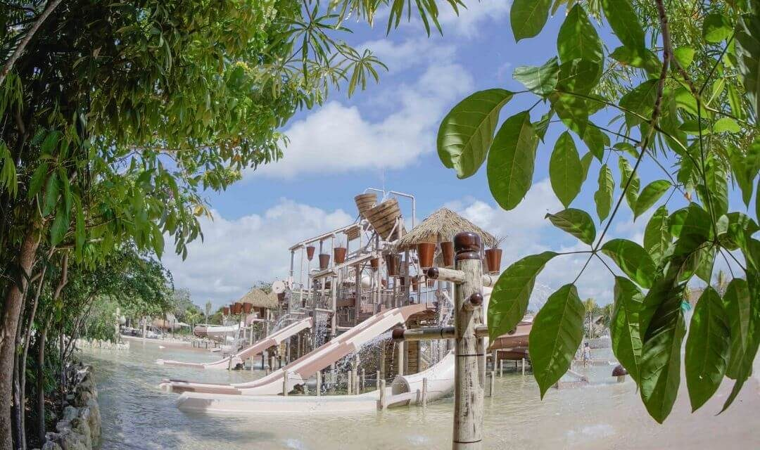 Adventure activities for kids at Xavage Cancun