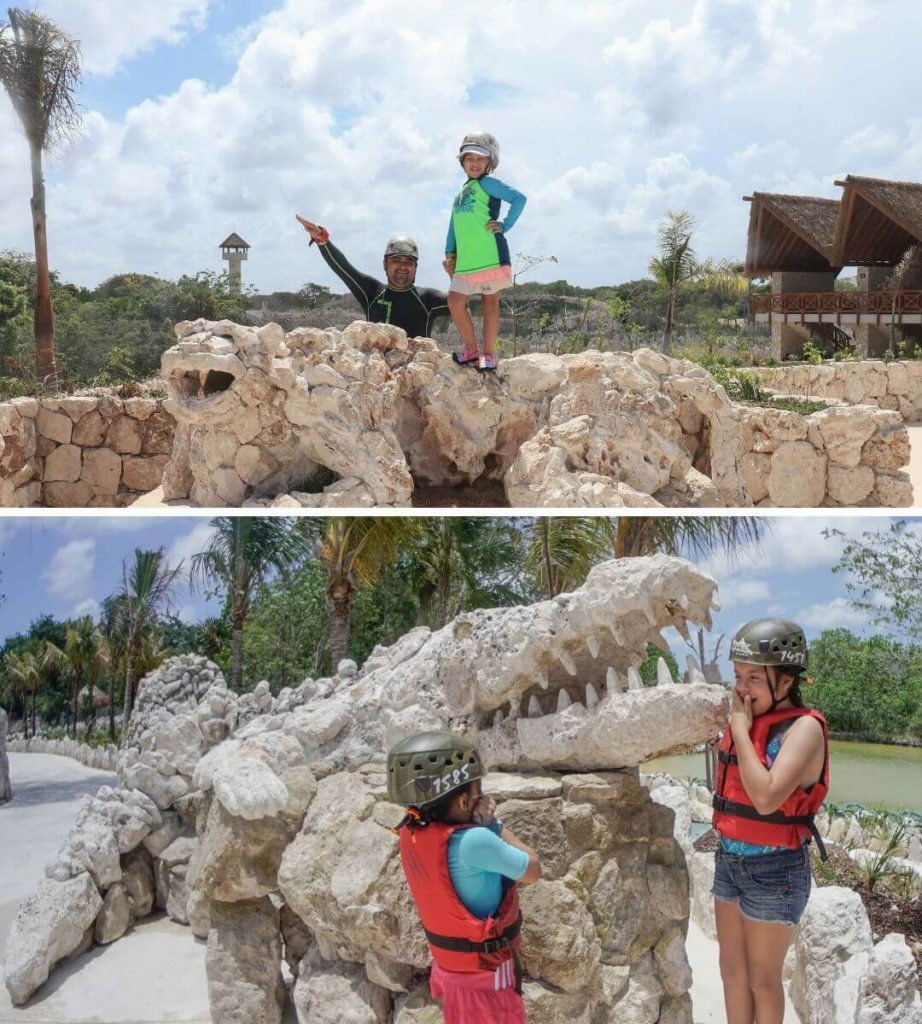 Fun family photos in Cancun