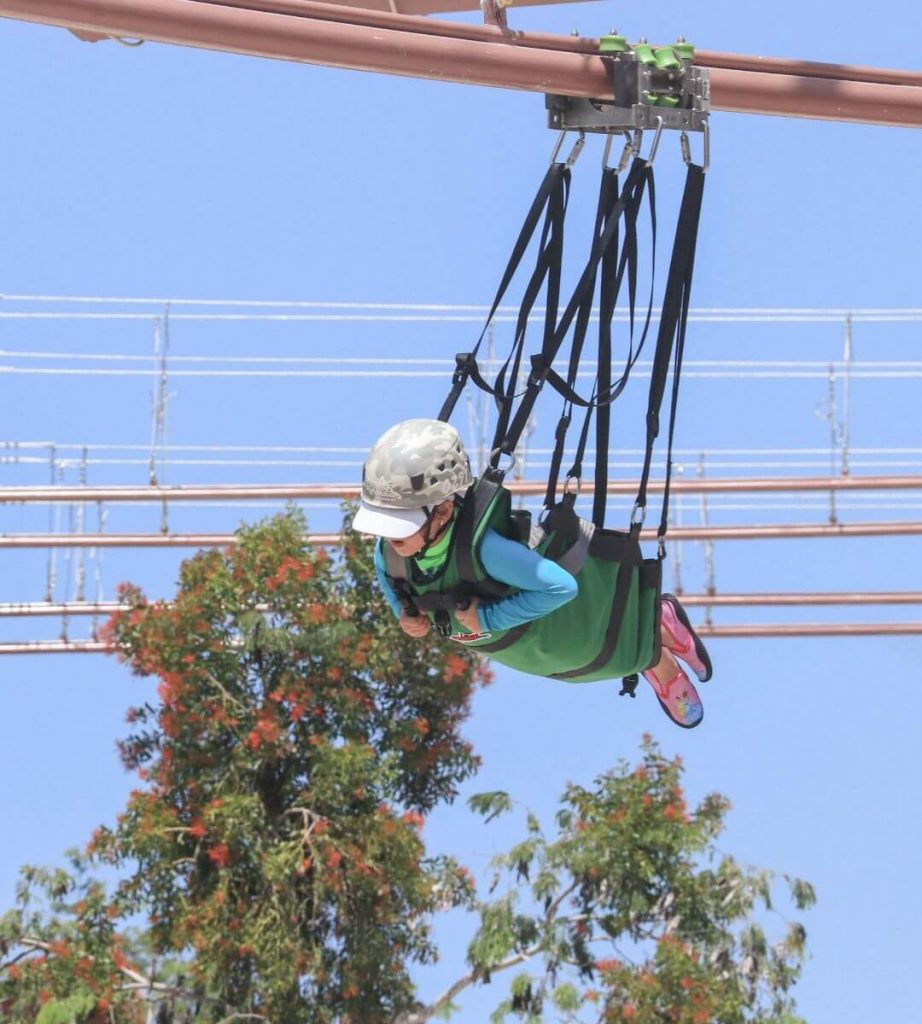 Ziplines for kids in Cancun