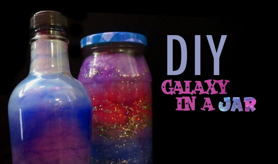 Galaxy in a Jar: Do it Yourself