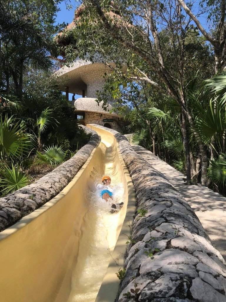 Discover Xplor's new activity: Underground Expedition - waterslide