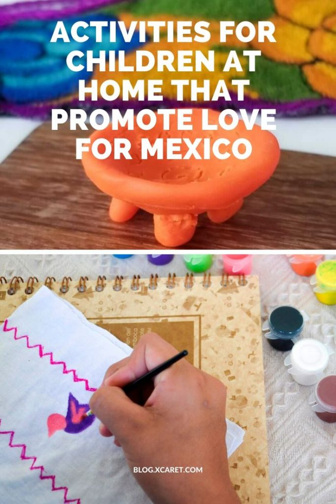 Activities for children at home that promote love for Mexico