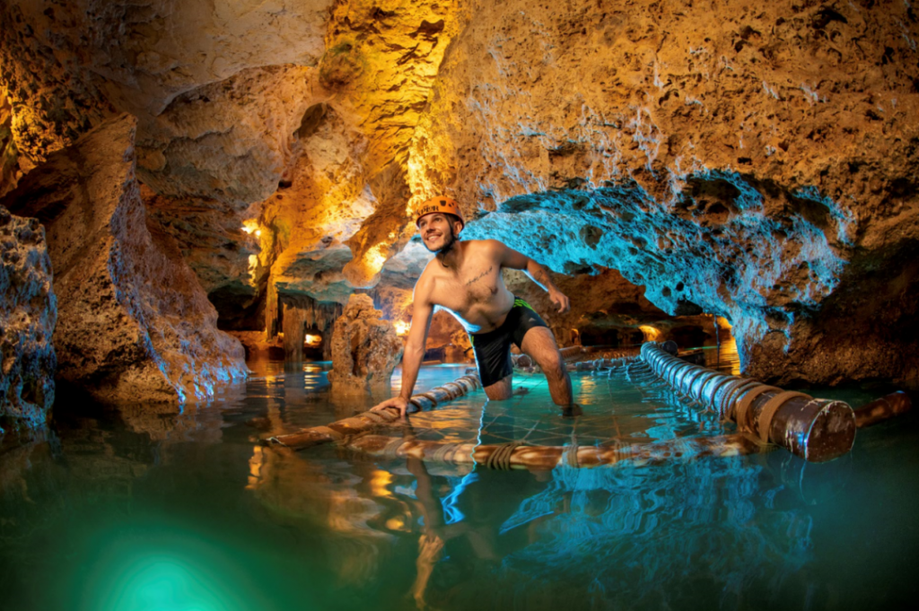 Discover Xplor's new activity: Underground Expedition - obstacles