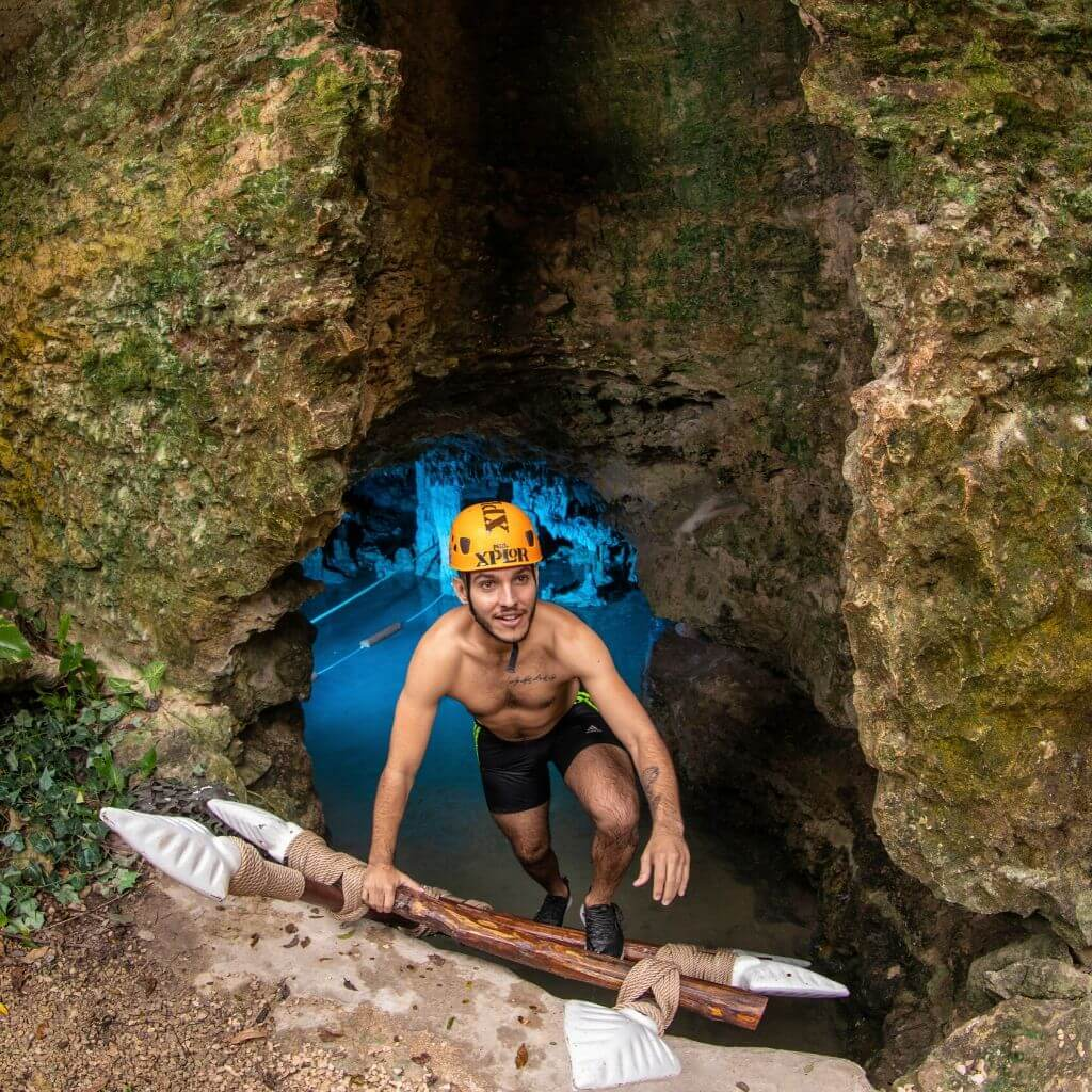 Discover Xplor's new activity Underground Expedition - river