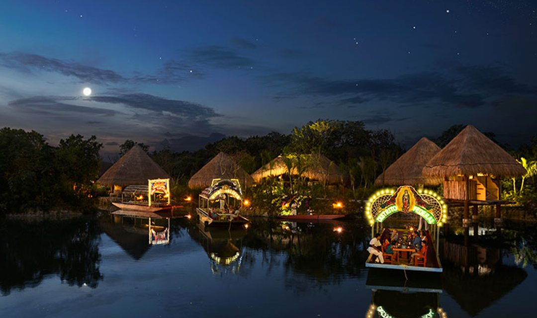 The Mexican Caribbean Lights Up