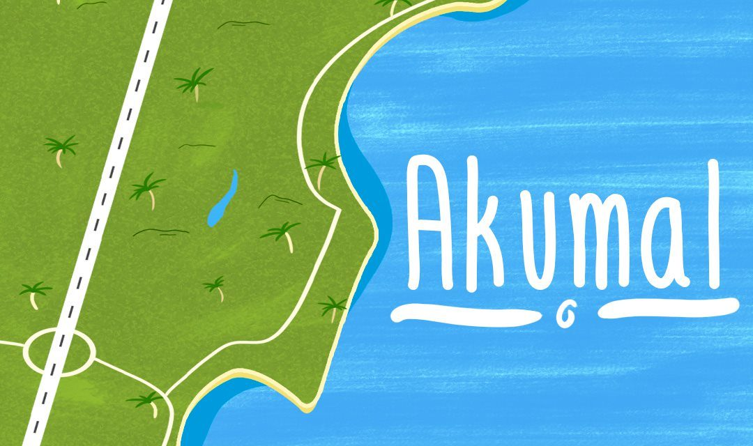 Akumal, a different destination in the Riviera Maya.
