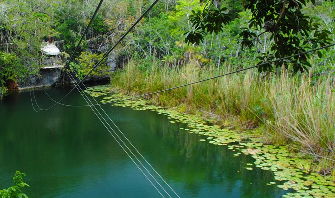 Discover the heights of Cenote Iik'