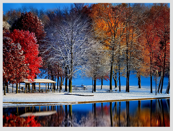 canada-seasons-lakes