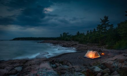 How to camp on the beach in five simple steps