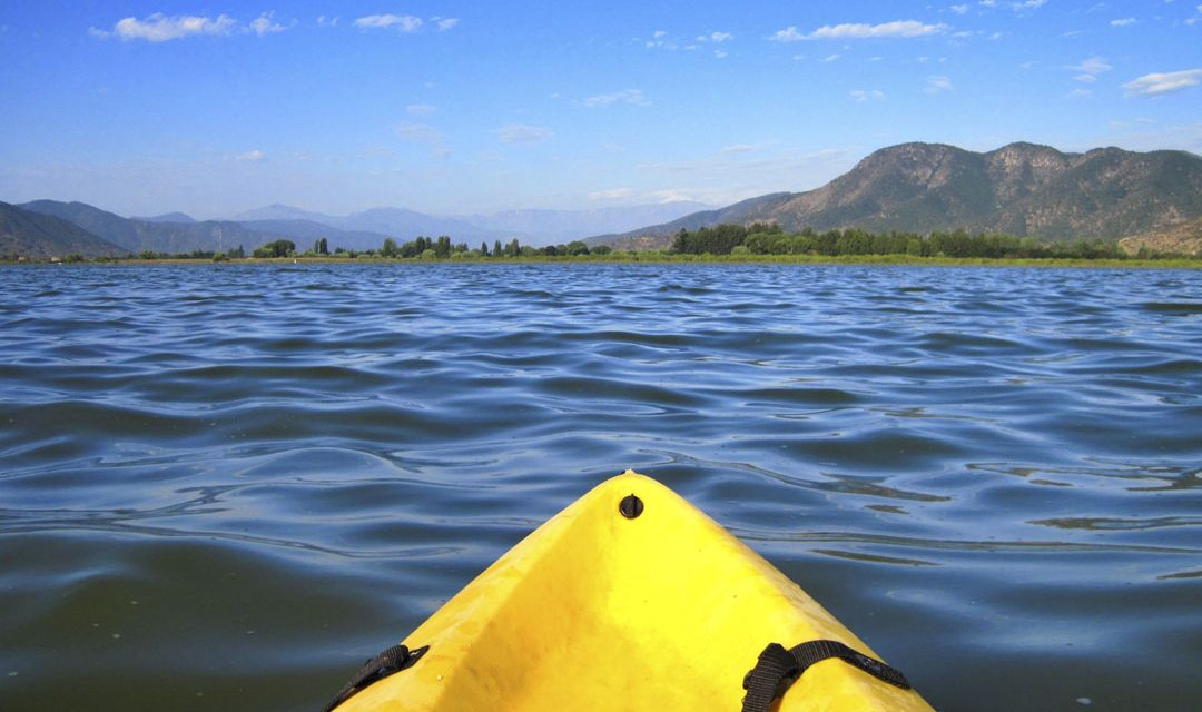 Incredibly beautiful places for kayaking