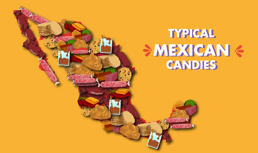 Typical Mexican candies to brighten the heart.