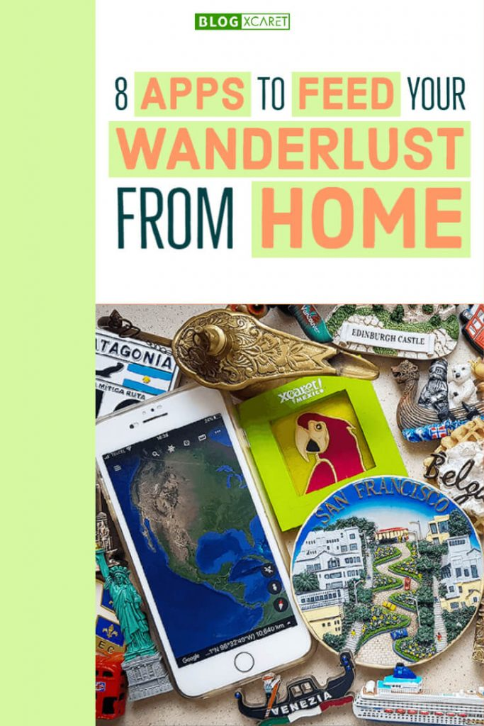 8 apps to feed your wanderlust Pinterest