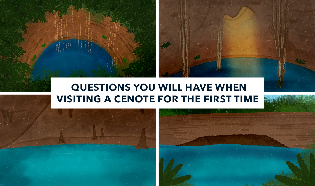 Questions you will ask yourself when visiting a cenote for the first time