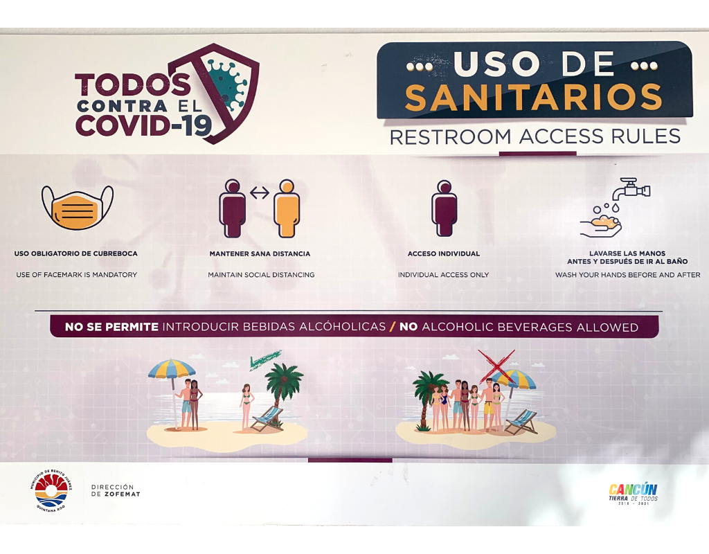 reopening-of-beaches-in-Cancun-sanitary-protocols