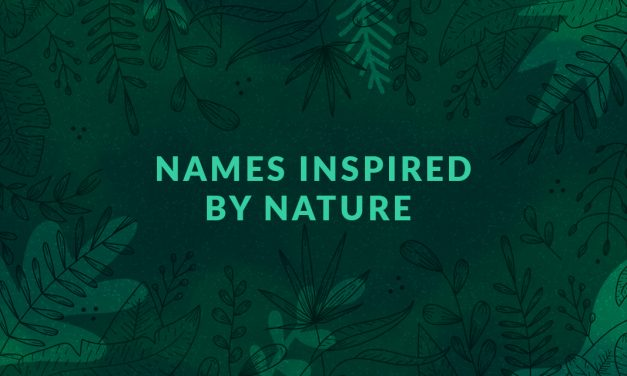 Names inspired by nature