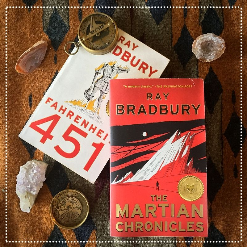 books by ray bradbury - the martian chronicles and fahrenheit 451