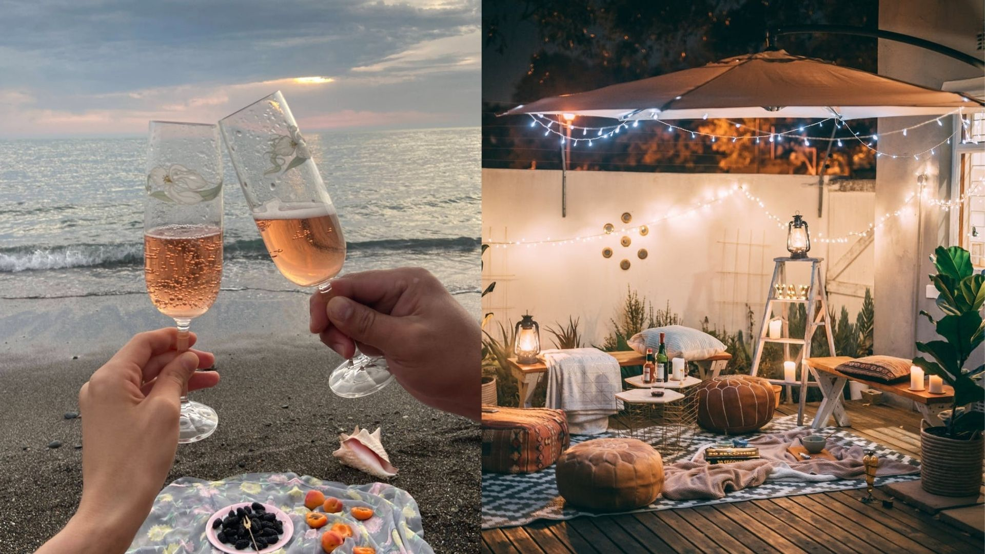 romantic ideas picnic with your partner on Valentine´s day