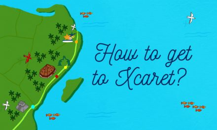 How to get to Xcaret? Transportations options and maps