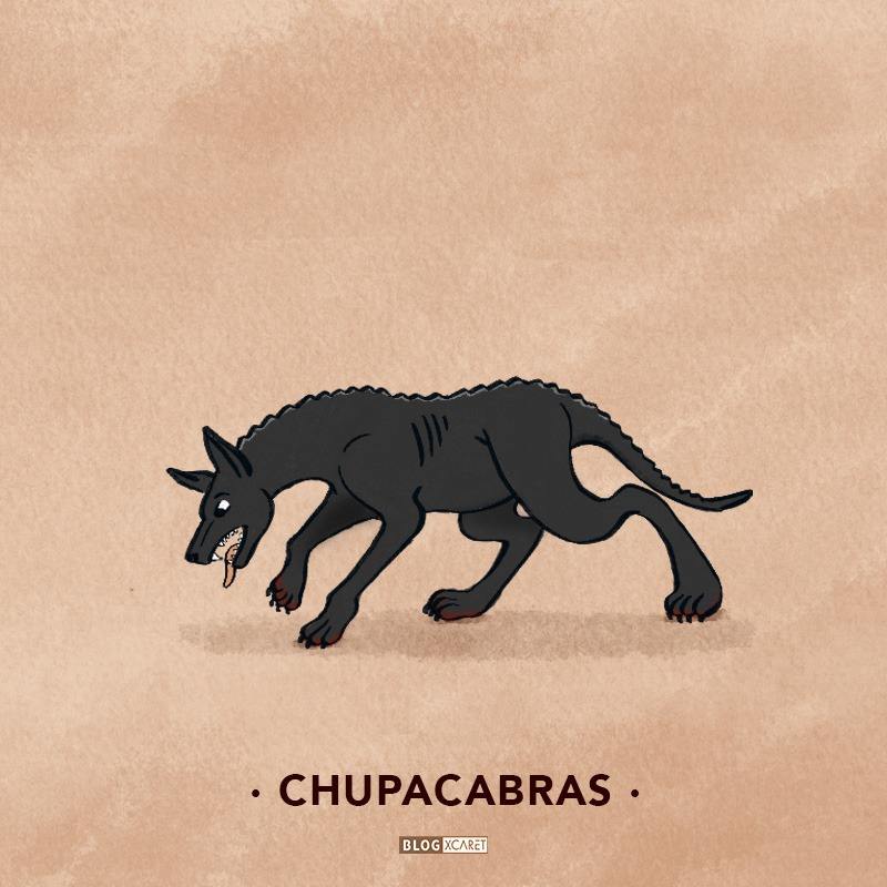chupacabras-10 mythological creatures of mexico