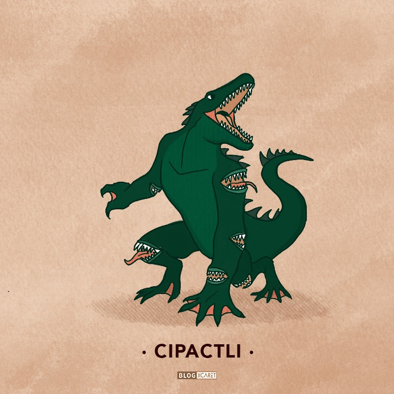 cipactli -10 mythological creatures of mexico