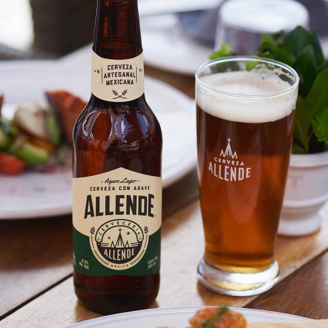 allende agave mexican beer