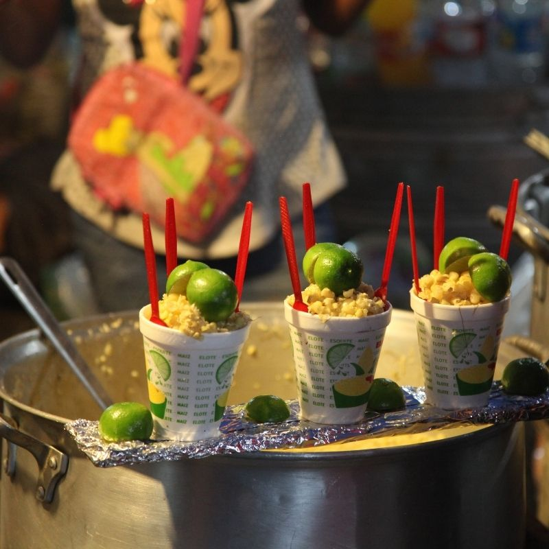 Mexican street corn - Traditional Esquites