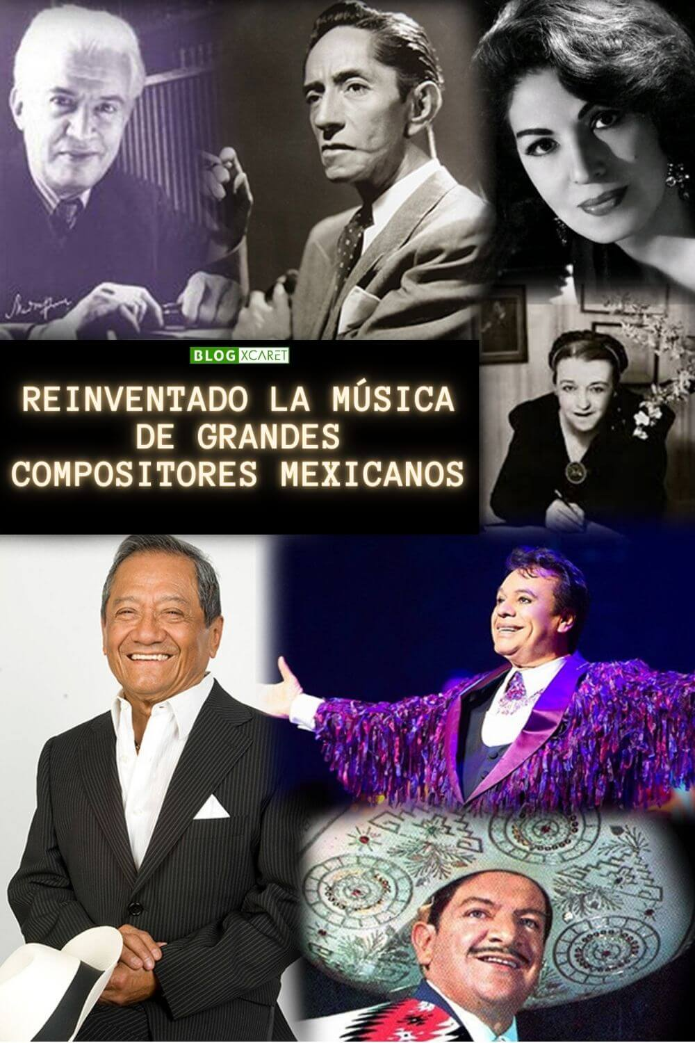 Grandes compositores mexicanos Pinterest