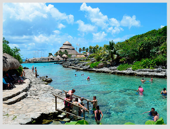 Xcaret for the first time